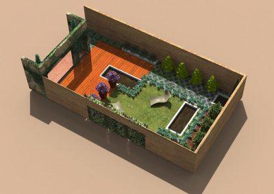 Ponds garden
