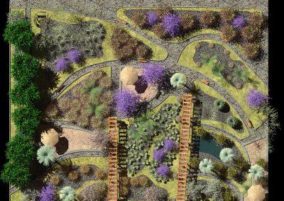 Tropical Garden: The Mosaic Garden