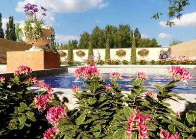 Reedición de jardín italiano