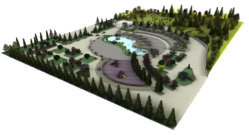 Progetto di tutorial video su Lands Design
