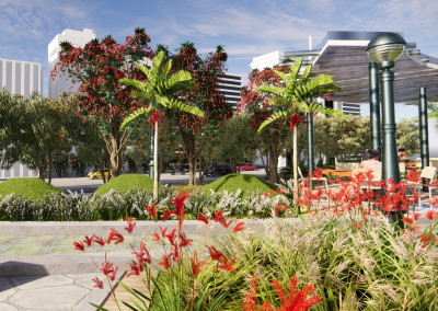 The park features forestation with native plants, in this case from Australia, to recreate an urban public leisure space and with sustainable criteria, which contributes to protecting the environment and improving the quality of people's lives. The different zones of the design were devised to encourage people meeting together while using the park. These spaces […]