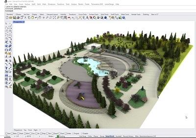 Lands Design, le logiciel d