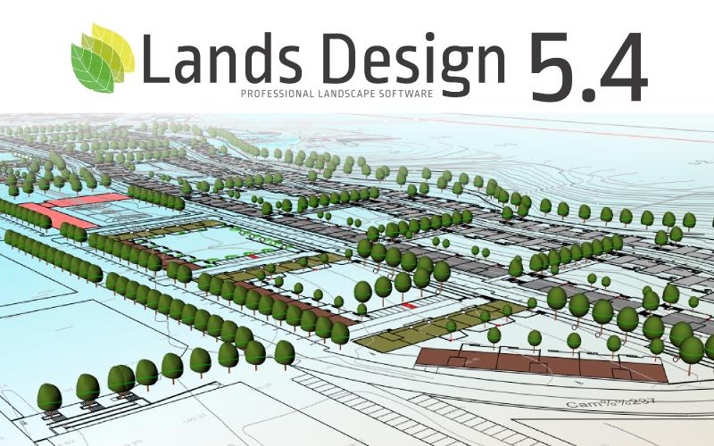 Lands Design 5.4 released