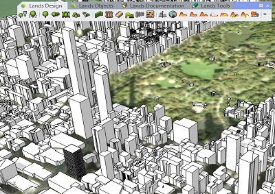 Lands Design is getting enhanced more! There is a new option inside import terrain tool, which imports existing buildings in 3D. In the upcoming versions you can decide to import existing buildings around the project area in addition to importing 3D terrains of the project. This tool will help urban designers to develop large scale […]