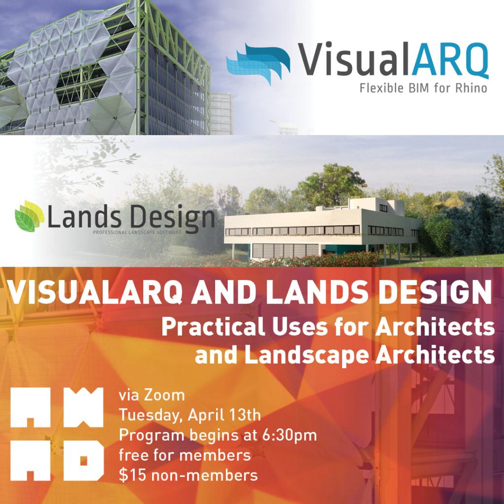 AWAD VisualARQ and Lands Design