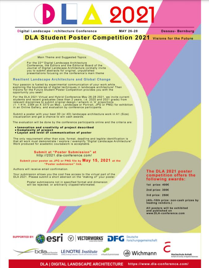 Poster competition- DLA 2021