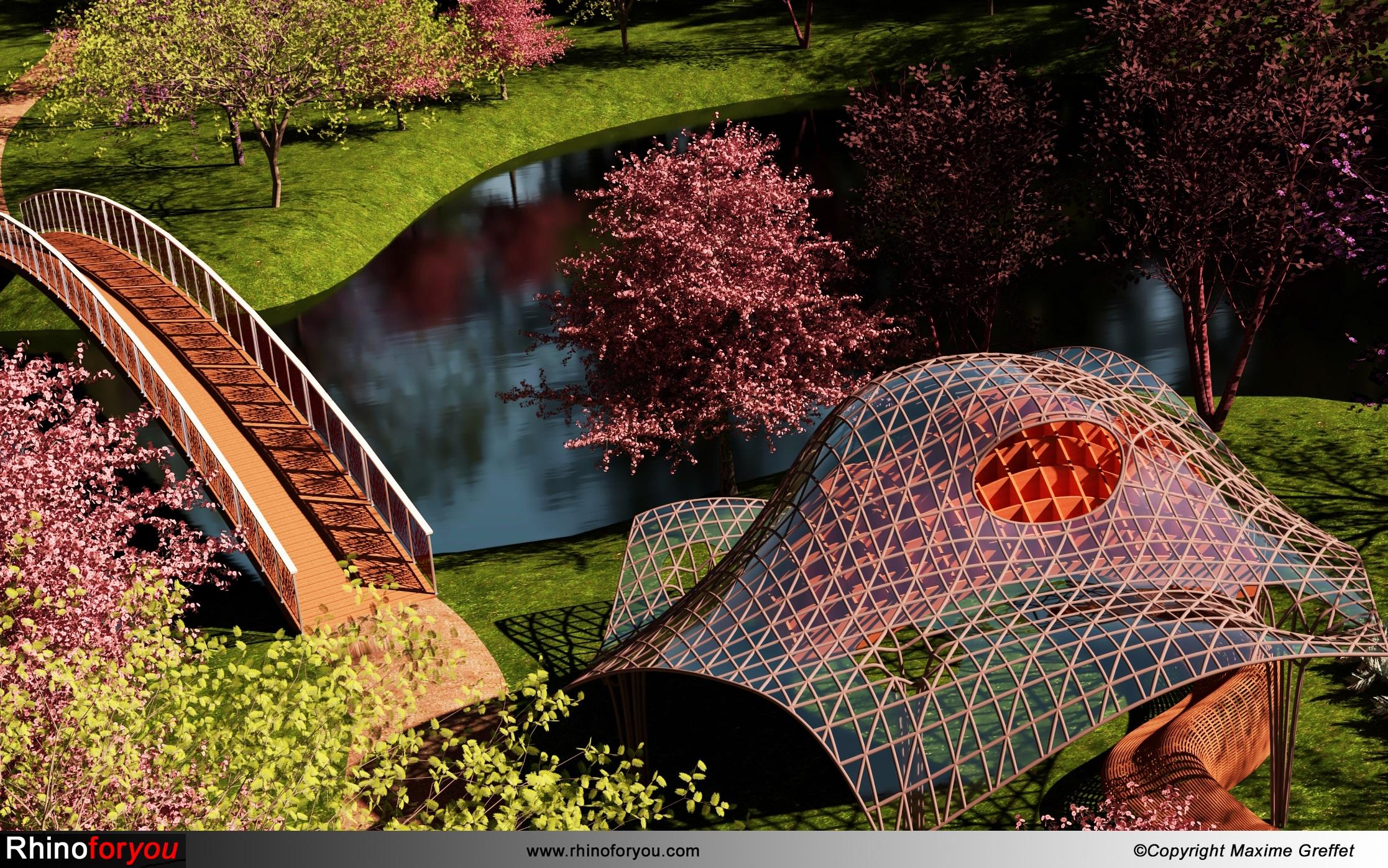Parametric design in landscape architecture with Lands Design