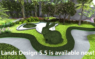 All new features we have been recently talking about, now are available for our users in the public version 5.5. Import existing buildings surrounding your project with one click! Topiary tool Create forest form any hatch (in Rhino) or Regions (in AutoCAD)